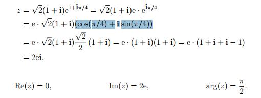 Rechenweg zur Aufgabe - (Mathe, Mathematik, Universität)