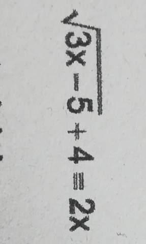 Komplizierte Wurzelgleichung lösen?