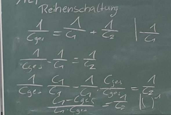 - (Schule, Physik, Elektronik)