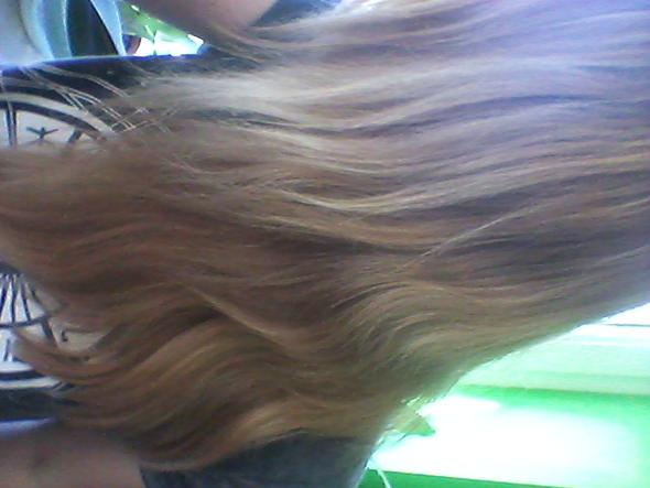 meine haare - (Haare, Frisur, blond)
