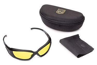 Schutzbrille mit gelben Gläsern - (Physik, Brille, Sonne)