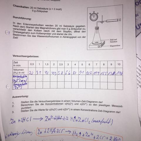 konzentration berechnen chemie schule mathe formel