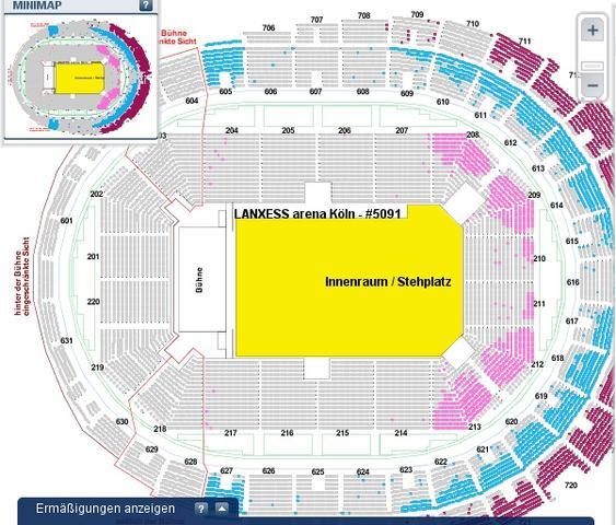 Sitzplan arena oberhausen Jetzt Tickets