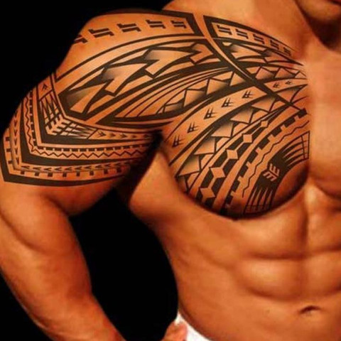 maori tattoo schulter cool maori styled tattoo pattern in. Black Bedroom Furniture Sets. Home Design Ideas