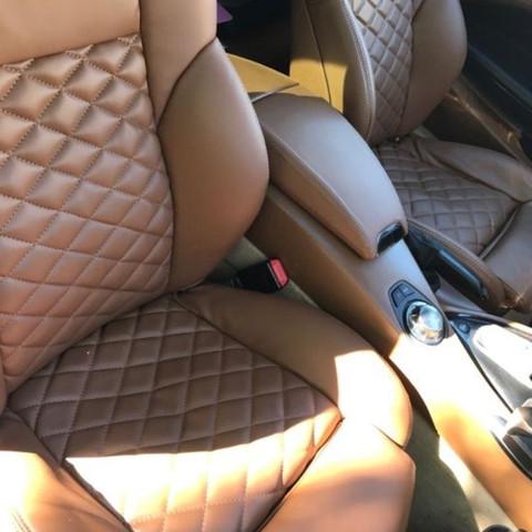 Wie auf dem Bild  - (BMW, Leder, Sattel)