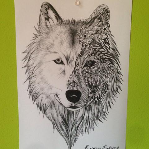 Wolf als Tattoo - (Tattoo, Wolf)