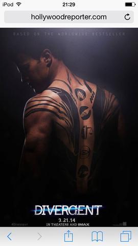 Tattoo von Four - (Tattoo, divergent)