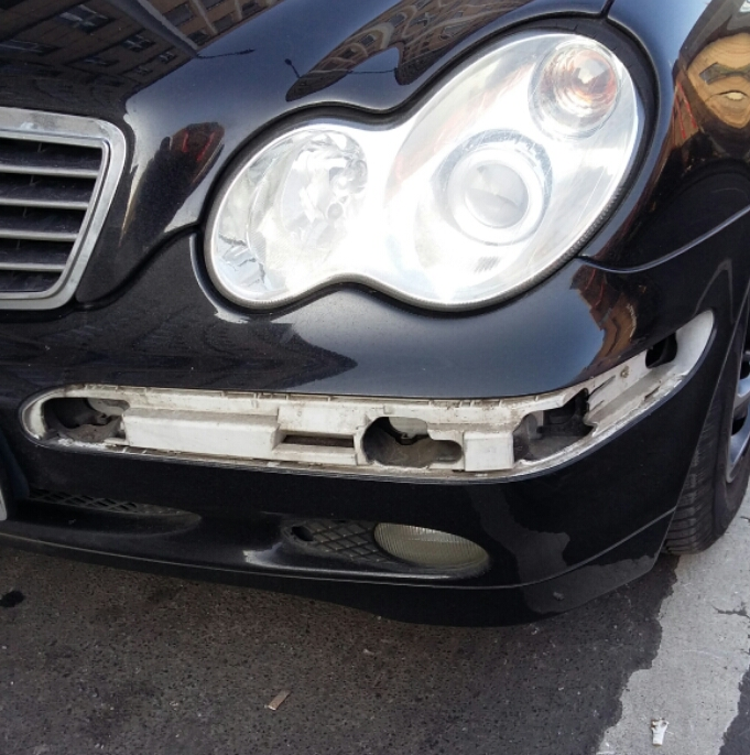 kotfluegel abgebrochen beim unfall kosten auto