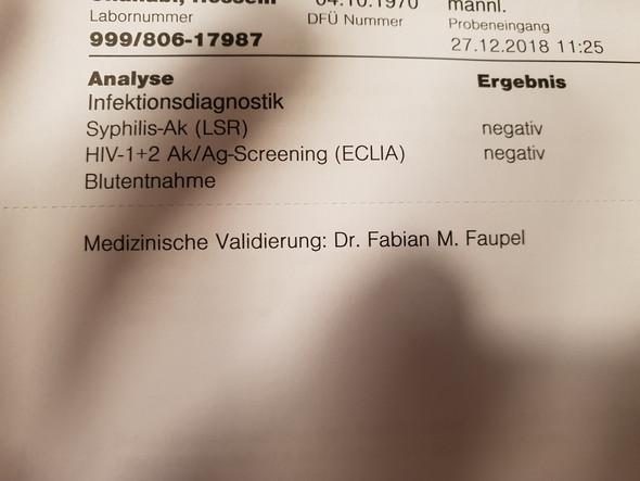 Test hausarzt ergebnis hiv Wo kann