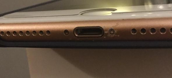 Kratzer am Rahmen iPhone 8?