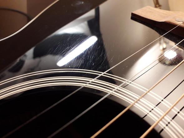 Kratzer auf Gitarre. Was tun?