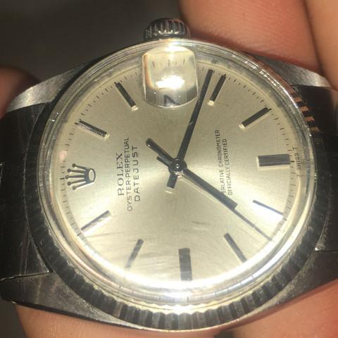 Kratzer Aus Rolex Glas Bekommen Uhr