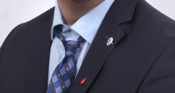 Krawatte sitzt nicht richtig?
