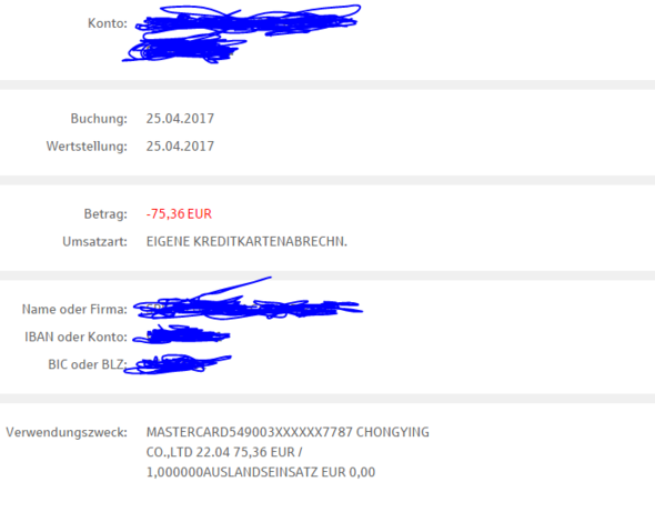 Paypal Account Gehackt