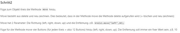 Kreise in Javascript bewegen (Klassen, move Methode)?