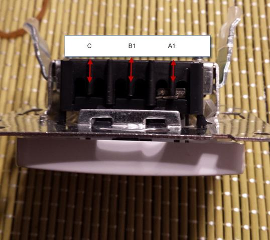 Kreutzschalter Fur Licht Austauschen Anderer Bezeichnung A1 L A2 Ect