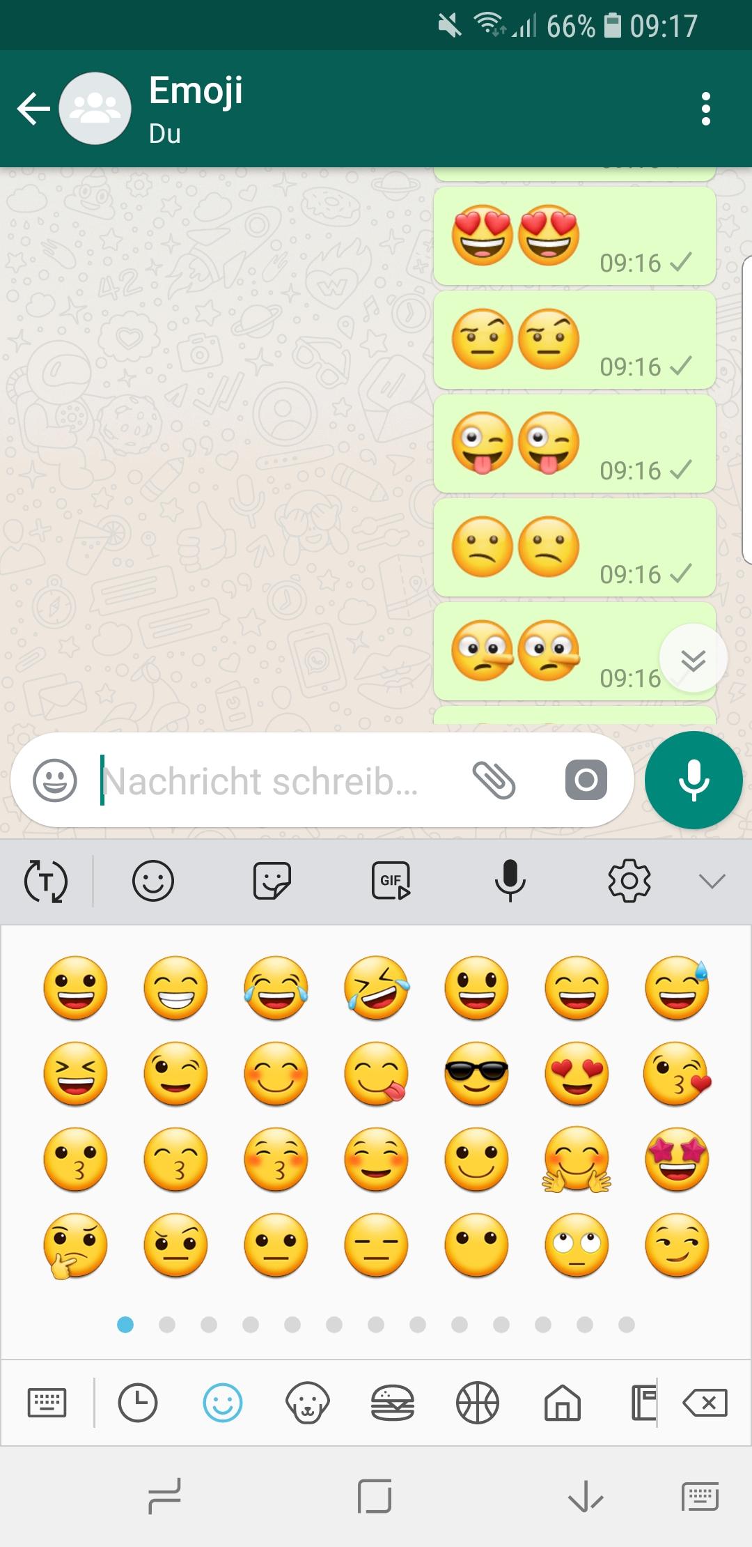 Mehr Emojis Whatsapp