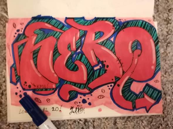 Kritik zu diesem Graffiti Sketch?