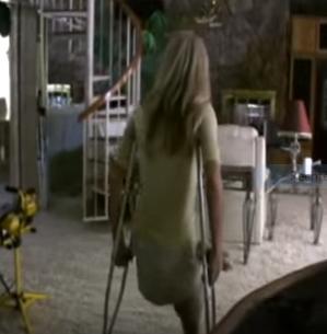 Mit krücken treppen laufen ohne belastung