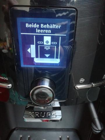 Krups EA82* kaffeevollautomat fehler?