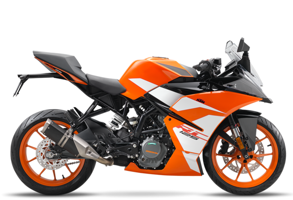 ktm rc 125 vs yamaha yzf r 125 motorrad 125ccm. Black Bedroom Furniture Sets. Home Design Ideas