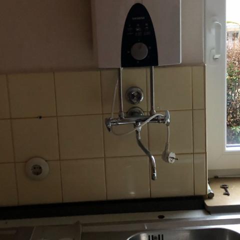 Wassererhitzer Küche  - (Wasser, Küche, Heizung)