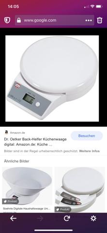 Küchenwaage von Dr Ötker kapputt?