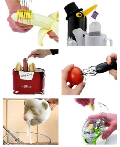 Was ist das Unnötigste, das ihr in eurer Küche habt?