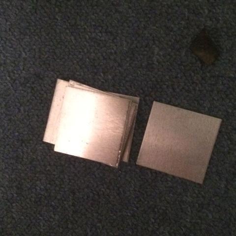 Aluminium Plättchen - (kühler, Peltierelement)