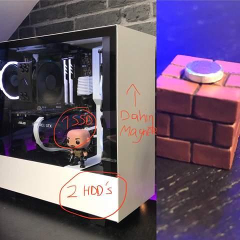 (Kühlschrank-) magnete an NZXT H510 PC Gehäuse schädlich?
