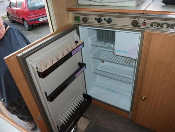 Kühlschrank im Dethleffs WoMo funktioniert nicht (Gas  ~ Kühlschrank Gas