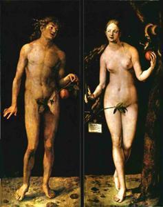 Adam und Eva von Albrecht D. - (Bilder, Kunst, Maler)