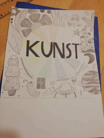 Kunst Deckblatt Inspiration?
