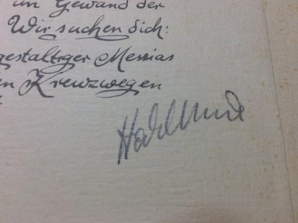 Signatur - (Kunst, Künstler, Bildsignatur)