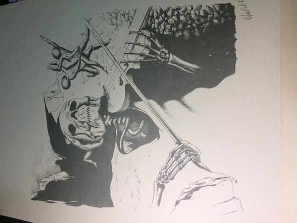 2 von 5 - (Kunst, Künstler, Bildsignatur)