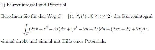 Potential - (Mathematik, Physik)