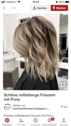 Kurze Haare Ja Nein Foto Mädchen Frisur