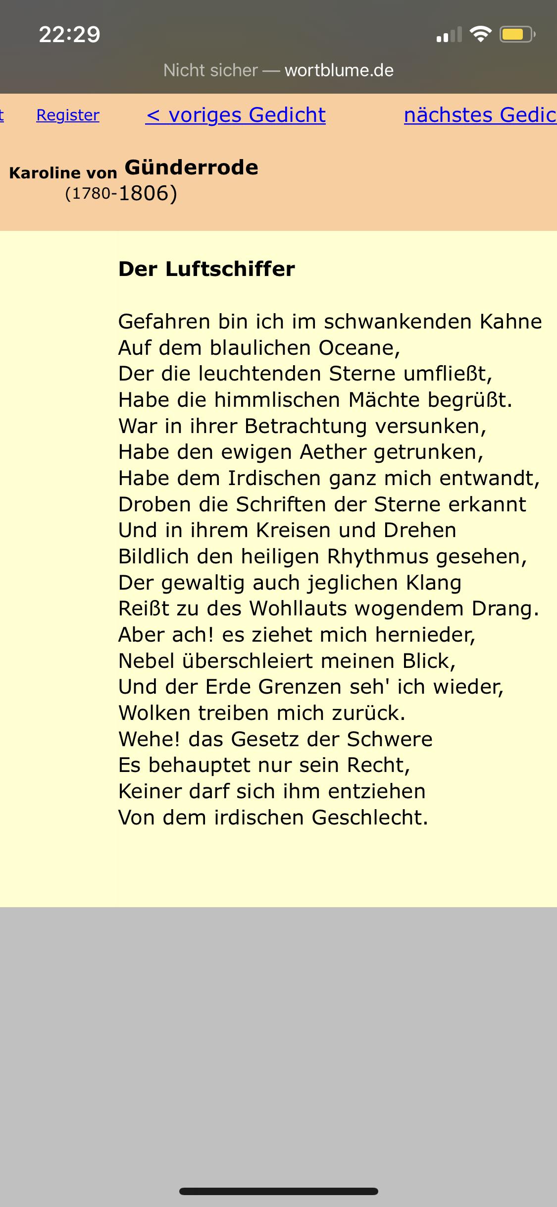 Kurze Interpretation Und Inhaltsangabe Zum Gedicht Deutsch
