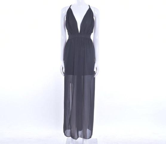 Transparentes Kleid  - (Kleid, Abschlussball)