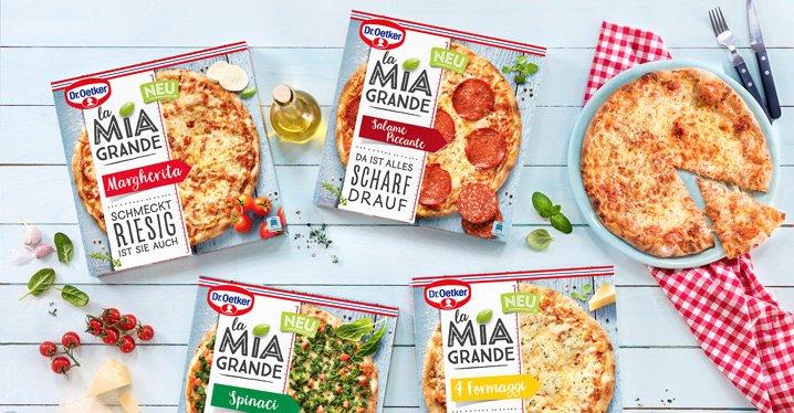 La Mia Grande Essen Italien Pizza
