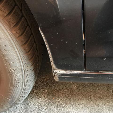 Lackschaden Ausbessern Auto Lack Rost