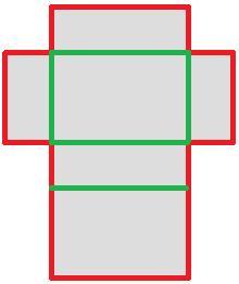l nge der abwicklung quader schule mathe mathematik. Black Bedroom Furniture Sets. Home Design Ideas