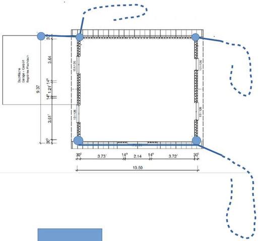 l nge und einbringung von drainagerohren entw sserung drainage. Black Bedroom Furniture Sets. Home Design Ideas