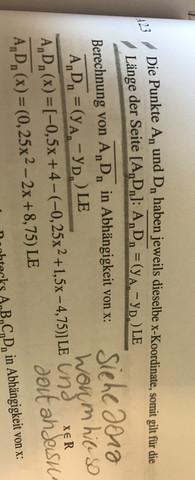 Aufgabe 1 Lösung - (Mathe, vektoren)