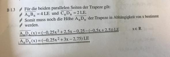Aufgabe 2 Lösung - (Mathe, vektoren)