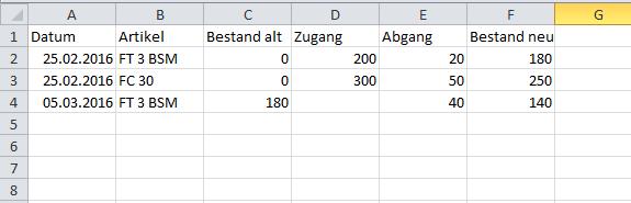 Bestand 2 - (Excel, Formel, Format)