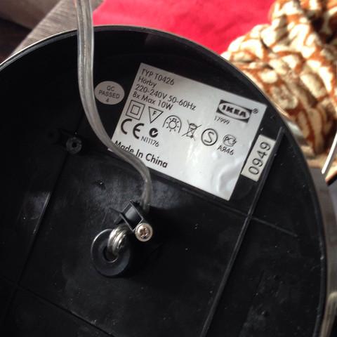lampe anschlie en und strom messen aber wie kabel elektrik sicherung. Black Bedroom Furniture Sets. Home Design Ideas