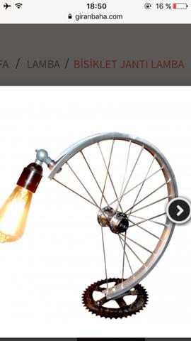 Lampe aus Mtb felge basteln wo bekomme ich metallsäge günstig?