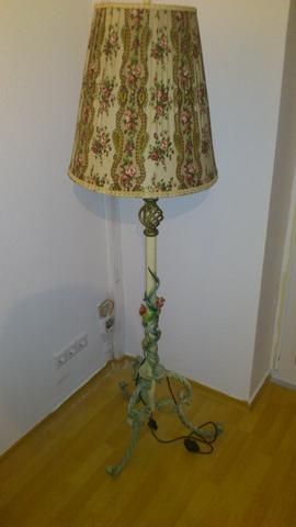 Blumenlampe - (Möbel, Lampe)