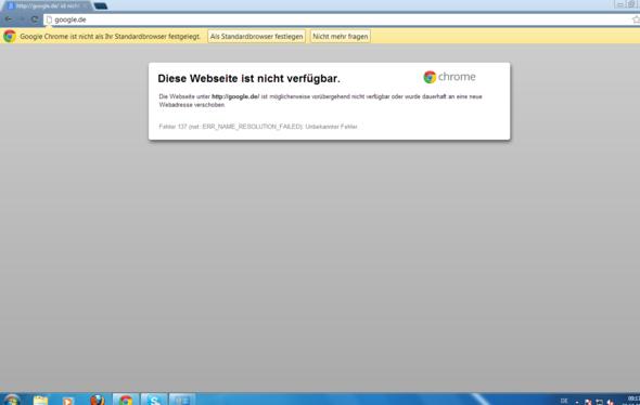 Seite kann nicht geöffnet werden - (Internet, Internetseite, Seite)